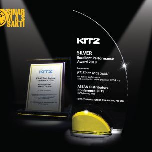 2019 Excellent Performance Award by KITZ Corporation
